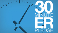 30 Minute ER Pledge